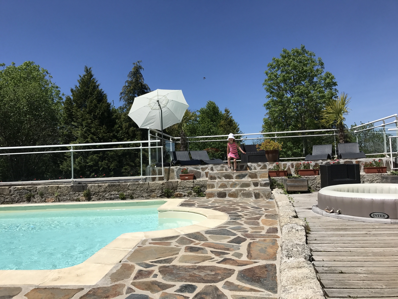 Piscine Chauffe Au Camping Argences En Aubrac Aveyron  Camping