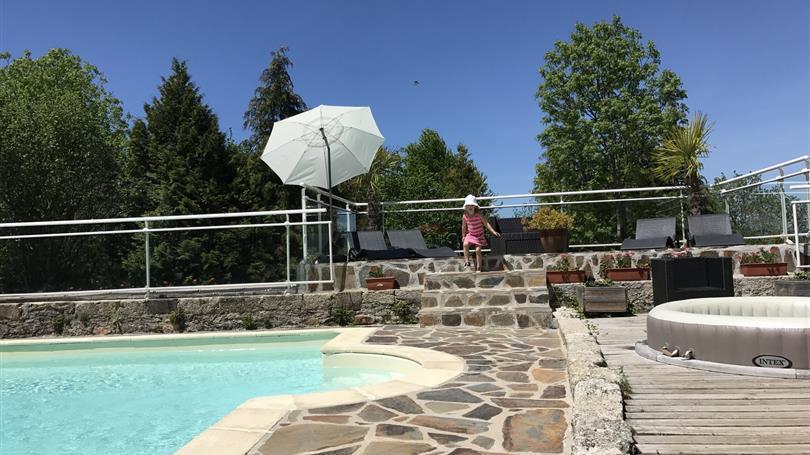 le clos de banes chambres dhotes et camping aveyron - Camping Dans L Aveyron Avec Piscine